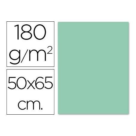 CARTULINA LIDERPAPEL 50X65 CM 180G/M2 VERDE