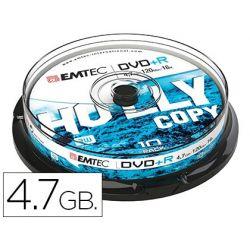 DVD+R EMTEC CAPACIDAD 4,7GB VELOCIDAD 16X CAJA -1 UNIDAD-