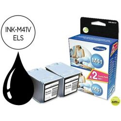 INK-JET SAMSUNG INK-M41 FAX NEGRO SF-370 TWINPACK -2 UNIDADES