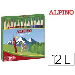 LAPICES DE COLORES ALPINO 652 C/ DE 12 COLORES CORTOS