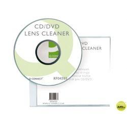 LIMPIADOR Q-CONNECT PARA LECTOR DE DVD/CD