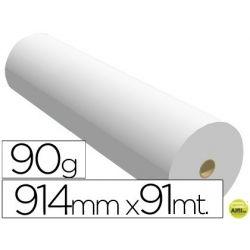 PAPEL REPROGRAFIA NAVIGATOR PARA PLOTTER QUALITY BOBINA 914X91 MT 90 GRS IMPRESION DE LINEAS Y COLOR