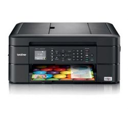 EQUIPO MULTIFUNCION BROTHER MFC-J480DW 12 PPM NEGRO / 6 PPM COLOR COPIADORA ESCANER FAX IMPRESORA