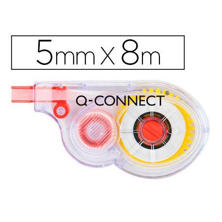 CORRECTOR Q-CONNECT CINTA BLANCO 5 MM. X 8 M. EN BLISTER