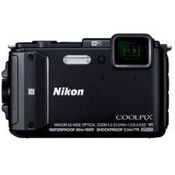 CAMARA DIGITAL NIKON COOLPIX AW130 NEGRA 16 MPX ZOOM OPTICO 5X GRABA VIDEO FULL HD 1080P WIFI BATERI