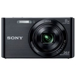 CAMARA DIGITAL SONY DSCW830B NEGRA 20,1 MPX ZOOM OPTICO 8X GRABA VIDEO HD 720P BATERIA CON CORREA DE