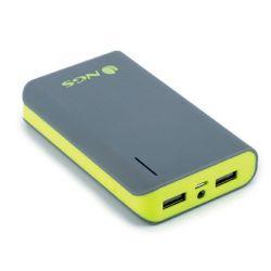BATERIA AUXILIAR NGS PORTATIL PARA TABLETS SMARTPHONE Y CAMARAS DIGITALES CON 2 PUERTOS USB CAPACIDA