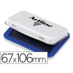 TAMPON ARTLINE N. 1 AZUL -67X106 MM