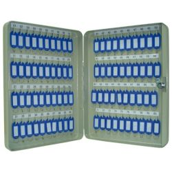 ARMARIO METALICO PORTALLAVES Q-CONNECT 370X280X60 MM PARA 80 LLAVES
