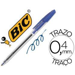 BOLIGRAFO BIC CRISTAL CLIC AZUL