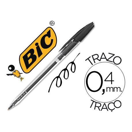 BOLIGRAFO BIC CRISTAL CLIC NEGRO