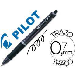 BOLIGRAFO PILOT ACROBALL NEGRO TINTA ACEITE PUNTA DE BOLA DE 1,0MM RETRACTIL