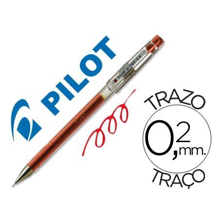 BOLIGRAFO PILOT PUNTA AGUJA G-TEC-C4 ROJO