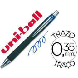 BOLIGRAFO UNI-BALL JETSTRAM SXN-210 RETRACTIL COLOR AZUL