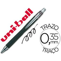 BOLIGRAFO UNI-BALL JETSTRAM SXN-210 RETRACTIL COLOR NEGRO