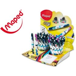 BOLIGRAFO MAPED TWIN TIP 4 COLORES COLORES SURTIDOS