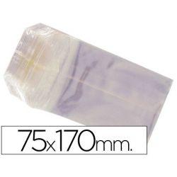 BOLSAS CELOFAN 75X170 MM -PAQUETE 100