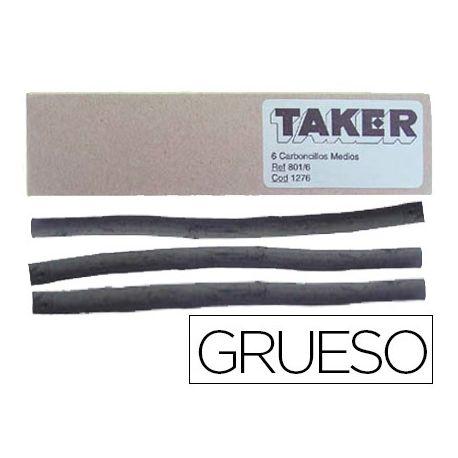CARBONCILLO TAKER GRUESO 801/3-CAJA DE 3 BARRAS