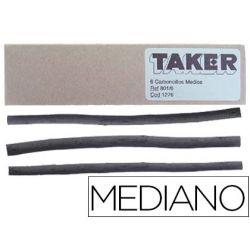CARBONCILLO TAKER MEDIANO 801/6 -CAJA DE 6 BARRAS
