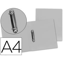 CARPETA BEAUTONE 2 ANILLAS MIXTAS 25 MM 43474 POLIPROPILENO DIN A4 TRANSPARENTE SERIE FROSTY