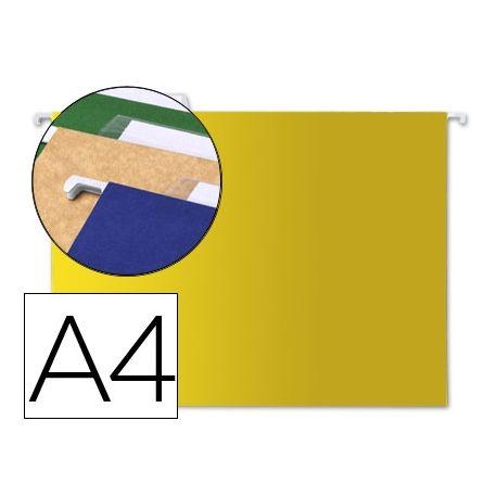 CARPETA COLGANTE LIDERPAPEL A4 AMARILLA