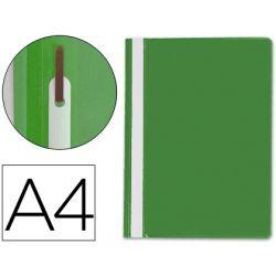 CARPETA DOSSIER FASTENER PLASTICO Q-CONNECT DIN A4 VERDE