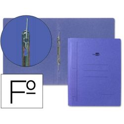 CARPETA LIDERPAPEL GUSANILLO CARTON AZUL FOLIO