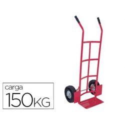 CARRETILLA PORTAPAQUETES -CON RUEDAS NEUMATICAS -TAMA¾O 1120X435X595 MM -CARGA DE 150 KG