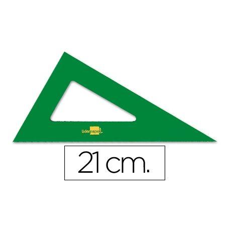 CARTABON LIDERPAPEL 21 CM ACRILICO VERDE