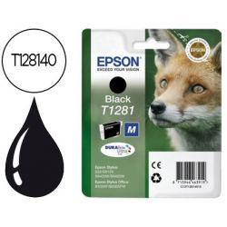 INK-JET EPSON STYLUS T1281 NEGRO S22 / SX125 / SX420W / 425W / OFFICE BX305F -CAPACIDAD