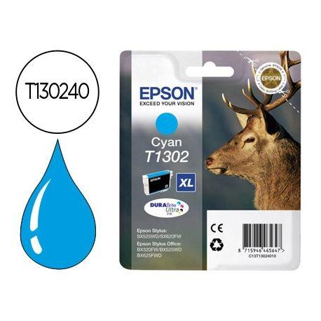 INK-JET EPSON STYLUS T1302 CIAN OFFICE BX320F - EXTRA ALTA CAPACIDAD -