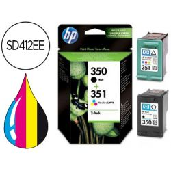 INK-JET HP N.350 N.351 DUAL PACK DJ 4260 4360 J5730 J5780 J5785 J6410 J6415 J6424