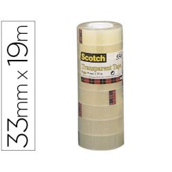CINTA ADHESIVA SCOTCH ACORDEON 550 19X33 MM