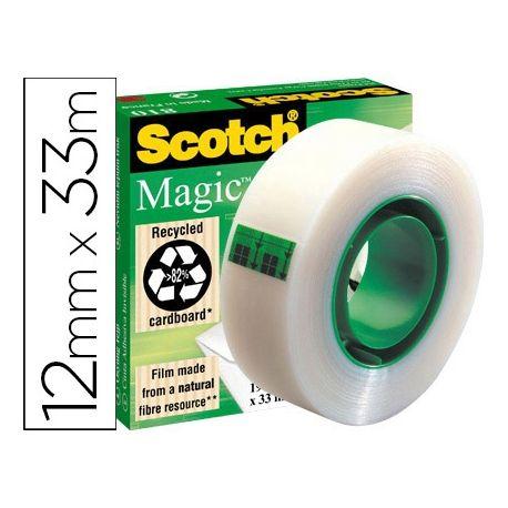 CINTA ADHESIVA SCOTCH-MAGIC 33 MT X 12 MM
