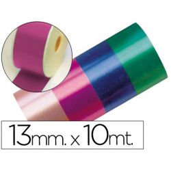 CINTA FANTASIA 10 MT X 13 MM FUCSIA