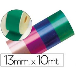 CINTA FANTASIA 10 MT X 13 MM VERDE