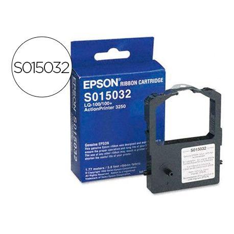 CINTA IMPRESORA EPSON LQ-100/100+ NEGRA