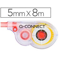 CORRECTOR Q-CONNECT CINTA BLANCO 5 MM. X 8 M. EN BLISTER