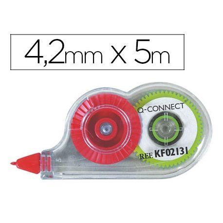 CORRECTOR Q-CONNECT CINTA MINIBLANCO 4,2MM.X 5 M. EN BLISTER