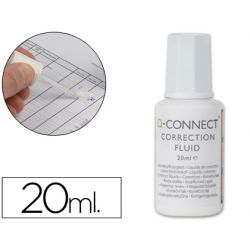 CORRECTOR Q-CONNECT FRASCO 20ML