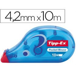 CORRECTOR TIPP-EX CINTA -POCKET MOUSE 4,2 MM X 9 M.