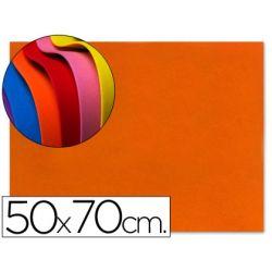 GOMA EVA LIDERPAPEL 50X70CM 60G/M2 ESPESOR 1.5MM NARANJA