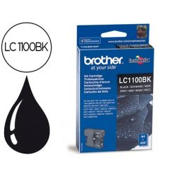 INK-JET BROTHER LC-1100BK NEGRO 450 PAG