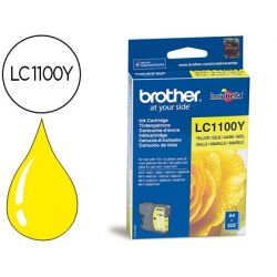 INK-JET BROTHER LC-1100Y AMARILLO 325 PAG
