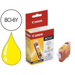INK-JET CANON BCI-6Y AMARILLO ORIGINAL PARA CANON S800/900 S9000