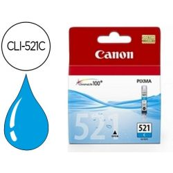 INK-JET CANON CLI-521C CIAN PIXMA MP620/630/980 IP3600/4600