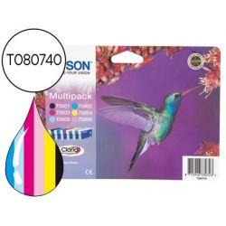 INK-JET EPSON STYLUS PHOTO R265/R360 RX560 MULTIPACK T0801+T0802+T0803+T0804+T0805 +T0806