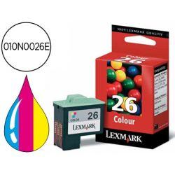 INK-JET LEXMARK COLOR JP Z13 Z23 Z33 Z25 Z517 Z600 Z601 Z615Z650 I3 MF X74 X75 X110 11X0 P3120 NEGRO