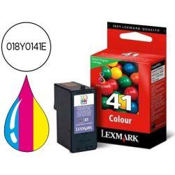 INK-JET LEXMARK Z1520, X4850/6570/9570 TRICOLOR RETORNABLE N.41 -210PAG-