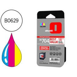 INK-JET OLIVETTI LINEA OFFICE/OFFICE WIFI/PHOTO/SIMPLE WAY PHOTO IN704 COLOR ALTA CAPACIDAD